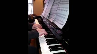 Carol of the Bells Christmas Piano Solo Thumbnail