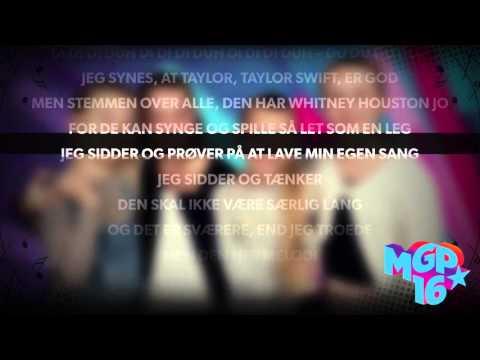 Ida - Min egen sang | Karaoke | MGP 2016