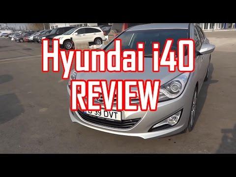 REVIEW Hyundai i40 sedan www.buhnici.ro