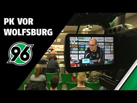 PK vor Wolfsburg   Hannover 96 - VfL Wolfsburg