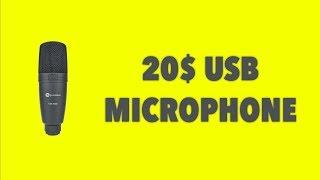 20$ Fun Generation USB Condenser Mic - is it worth it?