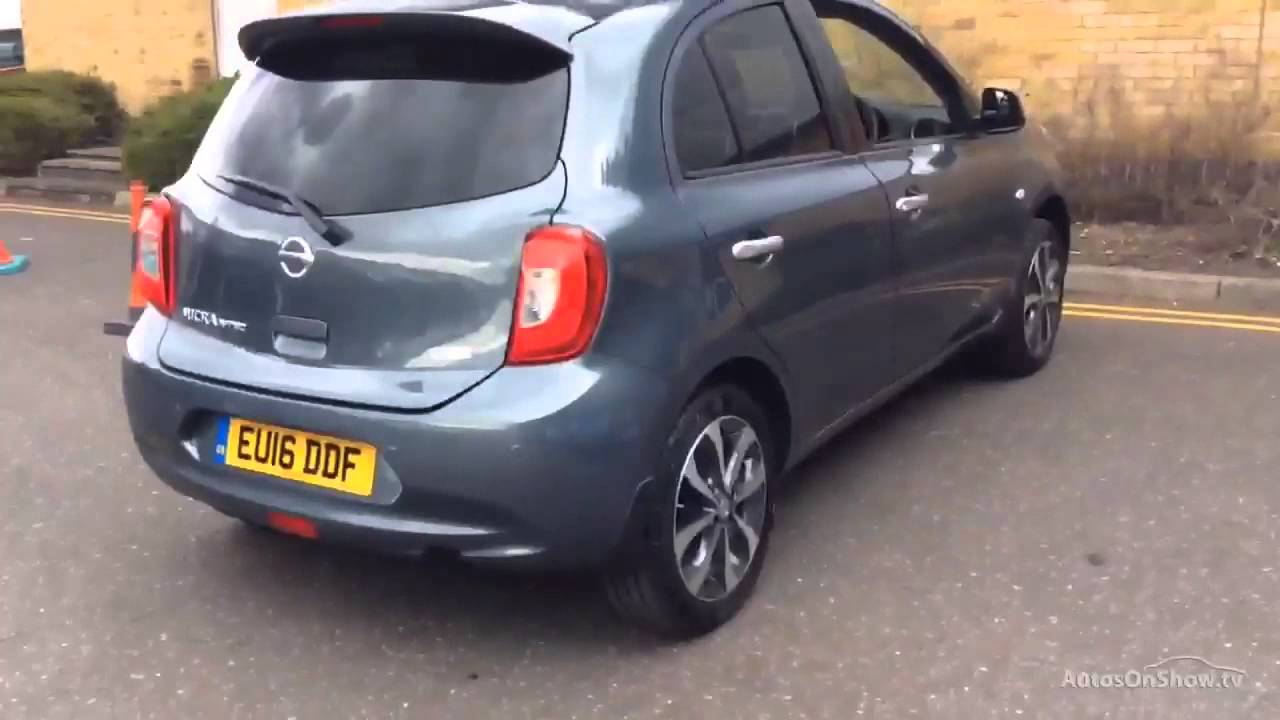 nissan micra n tec grey 2016 youtube. Black Bedroom Furniture Sets. Home Design Ideas
