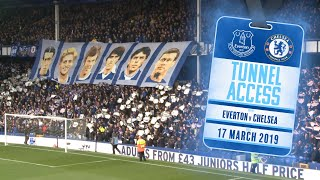 SIRENS + CELEBRATIONS! | TUNNEL ACCESS: EVERTON 2-0 CHELSEA