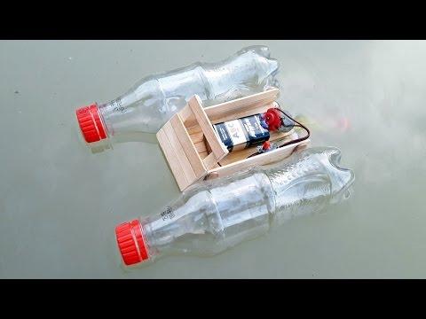 Cara Membuat Mainan Perahu Bermotor Yang Bisa Berjalan Di Air Dari