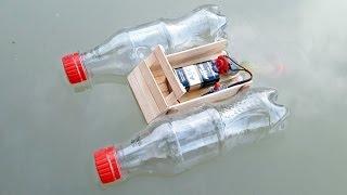 Baixar Cara Membuat Mainan Perahu Bermotor Yang Bisa Berjalan di Air Dari Barang Bekas (DIY)