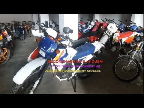 DUBAI SECONDHAND BIKE AND SCOOTER SHOP