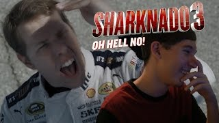 reaction - sharknado 3 oh hell no! extended trailer