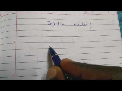 INJECTION MOULDING PROCESS EXPLANATION IN HINDI