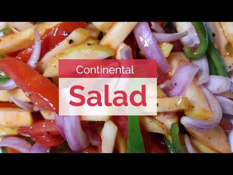 Continental Salad By Aqsa's Kitchen   Special Salad Recipe
