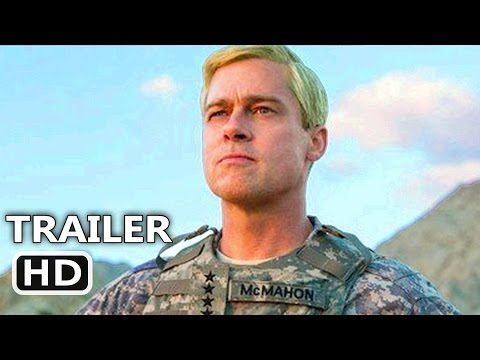 WAR MACHINE Official Trailer # 2 (2017) Brad Pitt, Netflix Movie HD