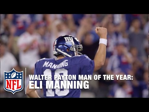 Eli Manning: 2015 Walter Payton Man of the Year Award Finalist | NFL