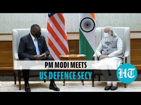 'Committed to strategic ties': PM Modi meets US Defence Secretary Lloyd Austin