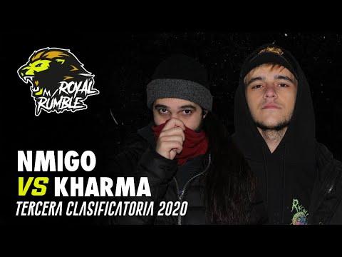 NMIGO VS KHARMA Final Tercera Clasificatoria Royal Rumble