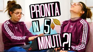 PRONTA IN 5 MINUTI?!? 😱⏰ MAKEUP + CAPELLI + OUTFIT AUTUNNO 2020 🍁