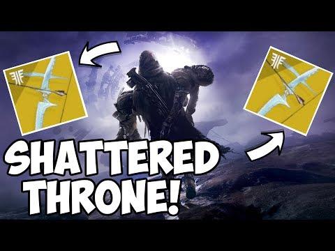 Destiny 2 Forsaken | Shattered Throne Carries! Anyone Welcome! thumbnail