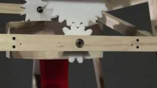 شاهد.. على غرار ماكينة الخياطة .. كرسي هزاز يقوم بالمهمة بحد أدني من المجهود