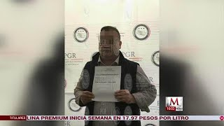 Javier Duarte llega a Reclusorio Norte para audiencia