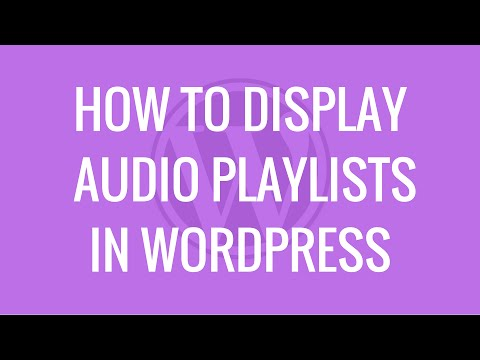 How to display audio playlists using AudioIgniter WordPress plugin