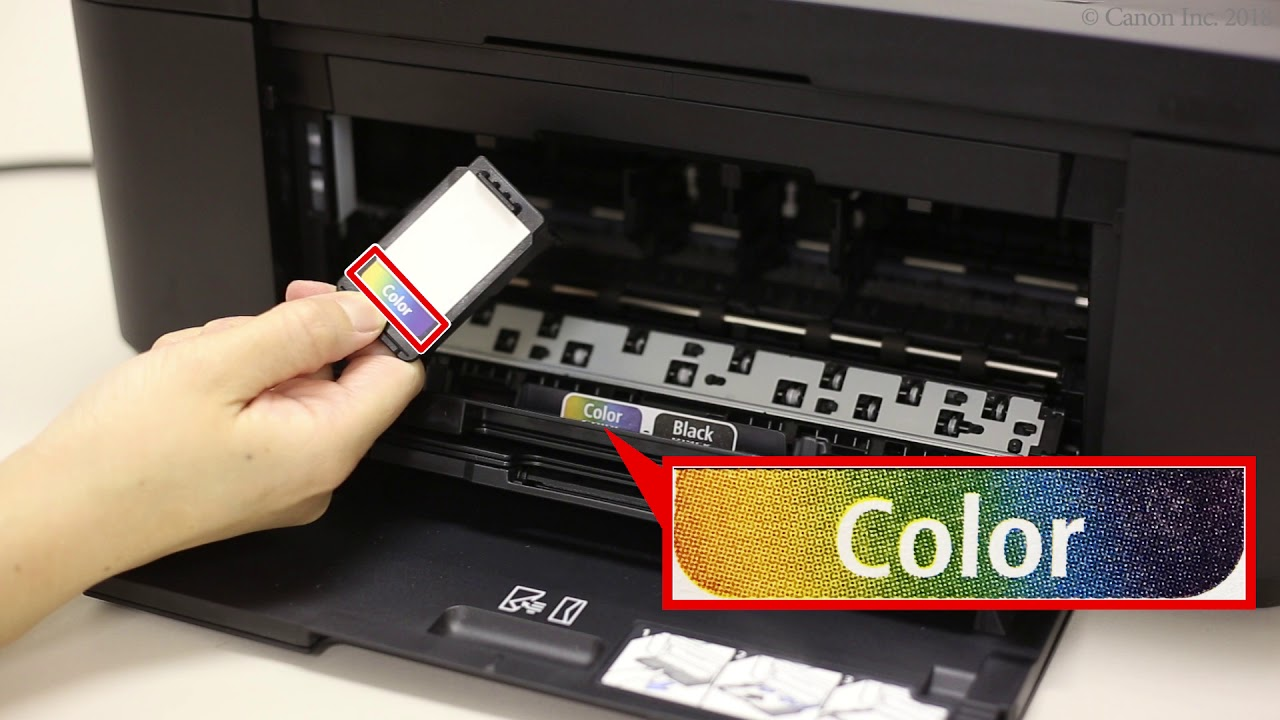 Installing the FINE cartridges (TR4500 series / E4200 series)
