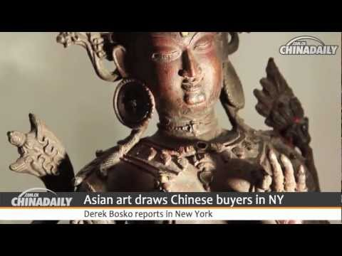 Asian art draws Chinese buyers in NY