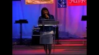 La Justicia y la Misericordia de Dios. Pastora Leonor Rodriguez. Congreso Mujeres 2012.flv
