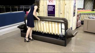 Диван-кровать БАЛИ - экономно, качественно, оптимально!(BALI – оригинальная, надежная и комфортная модель. Передняя и боковая царги обшиты тканью в цвет чехла. Метал..., 2015-07-14T06:36:53.000Z)