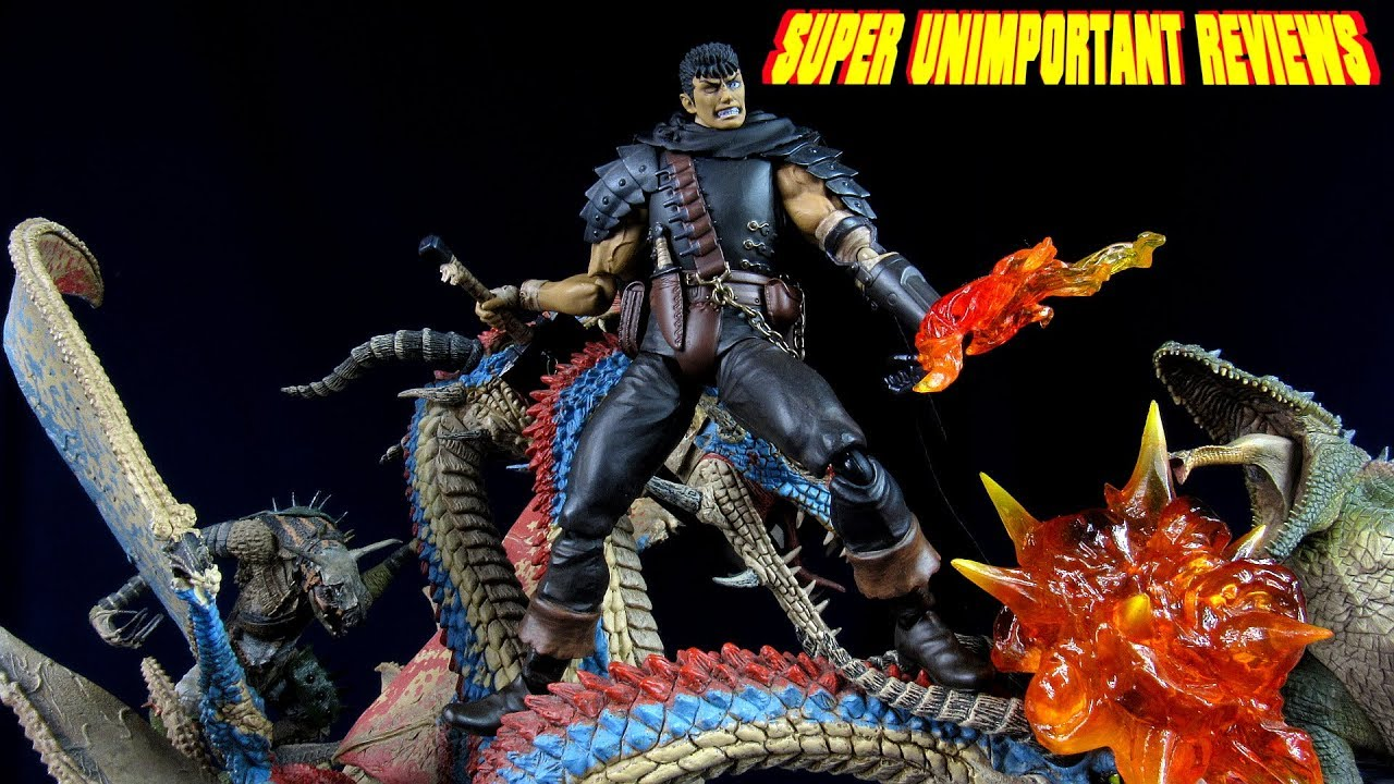 Figma 359 Berserk Guts Repaint Edition Figure IN BOX Black Swordsman Ver