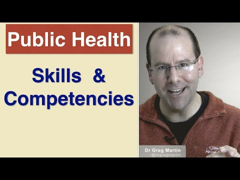 Skills and Competencies for Public Health