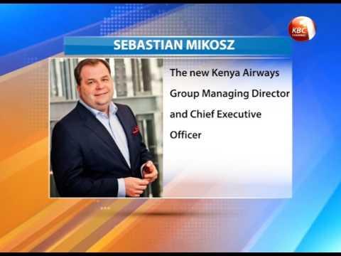 Sebastian Mikosz appointed new KQ CEO