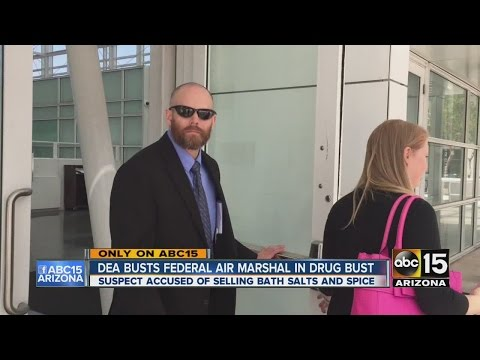 Federal air marshal facing drug charges in Phoenix