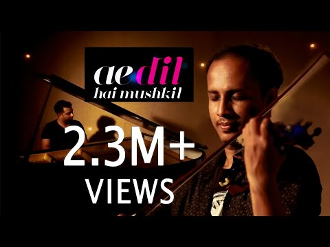 Ae Dil Hai Mushkil theme song|Violin cover|Noble Sunny feat. George Varghese