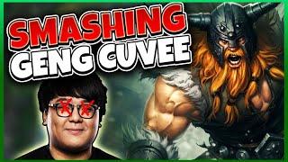 SMASHING WORLD CHAMP GEN G CUVEE?? | League of Legends