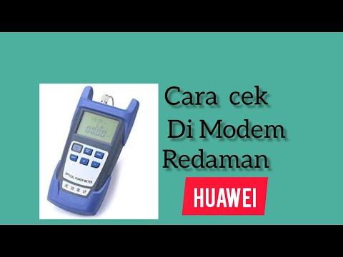 cara-cek-redaman-di-modem-huawei