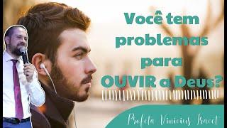 Você tem problemas para OUVIR a Deus? Profeta Vinicius Iracet thumbnail