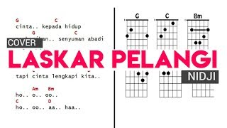 Cover Nidji - Laskar Pelangi Full Diagram Chord