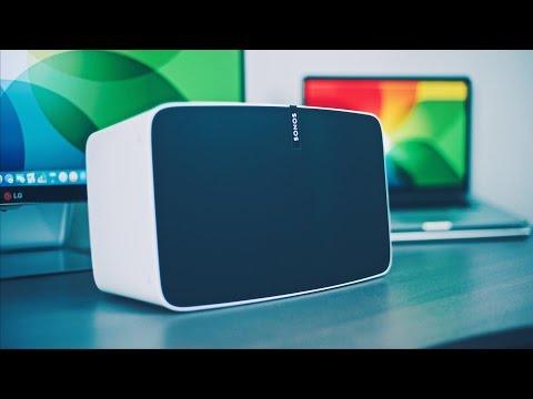 Sonos' neuer PLAY:5 Lautsprecher im Review!