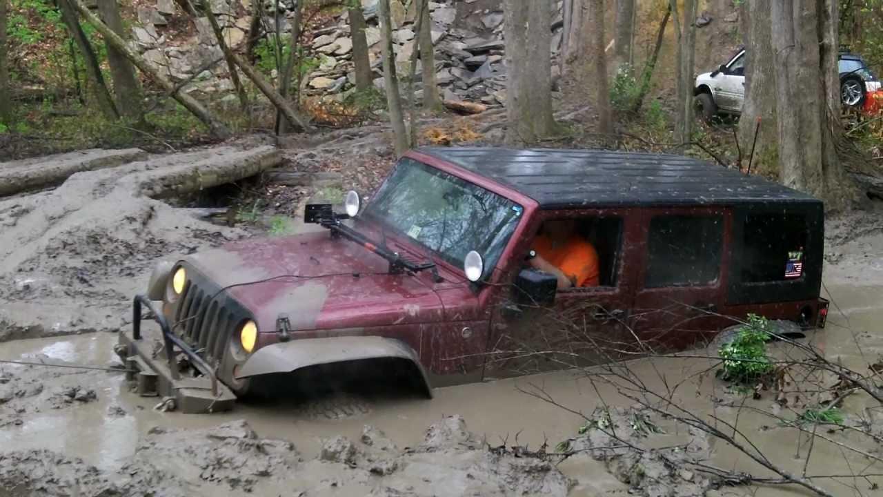 Sayre Starr Motors In Suffolk Virginia Jeep Jk In Mud