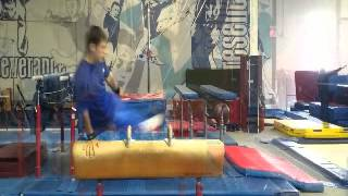 Pommel Horse Training - Christian Andonoff