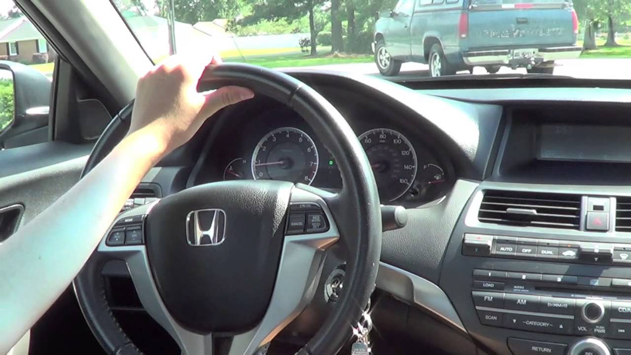 2008 Honda Accord Coupe Ex L V6 Test Drive And Tour Youtube