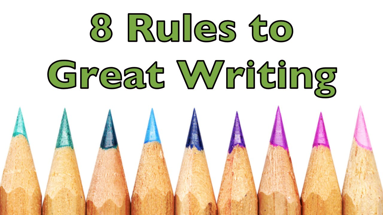 rules to writing 7 fundamental rules of poetry allison vannest  as an exercise, try writing down all the items you can think of that you associate with a certain emotion you could also take a walk and jot down how the sight of certain things makes you feel use those images in your next poem.