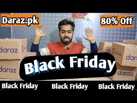 Black Friday Daraz Pk Mystery Box Unboxing Black Friday 80 Off Gadgets Unbox