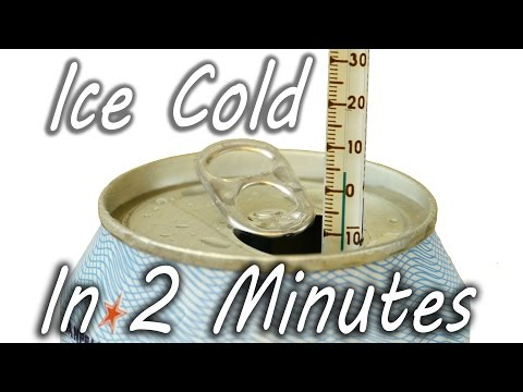 This Is How You Cool Down A Drink In Two Minutes Flat | HuffPost Life