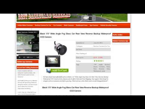 BackUp Camera Review | Rear View Camera Tutorial For Cars,Trucks, RV's from YouTube · Duration:  6 minutes 48 seconds