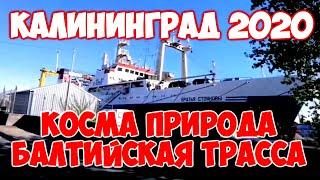 КАЛИНИНГРАД 2020 из МАШИНЫ - КОСМА, ПРИРОДА, БАЛТИЙСКАЯ ТРАССА.