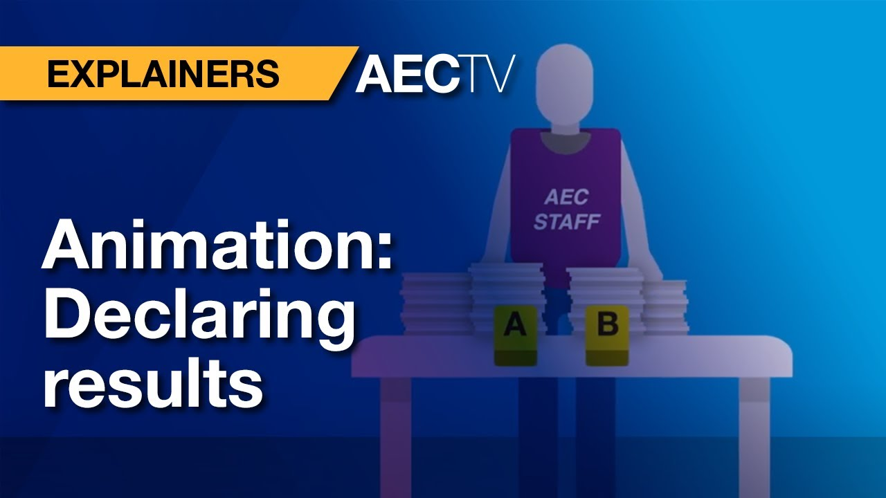Counting the votes - Australian Electoral Commission
