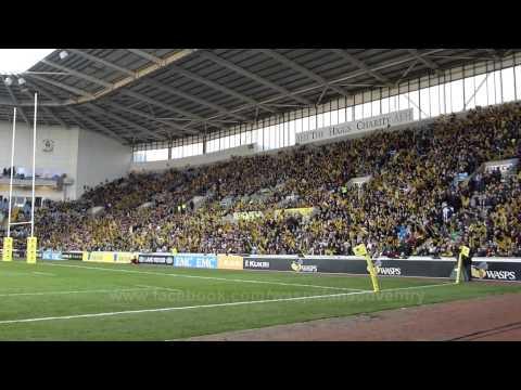 Wasps V London Irish Ricoh Arena Coventry
