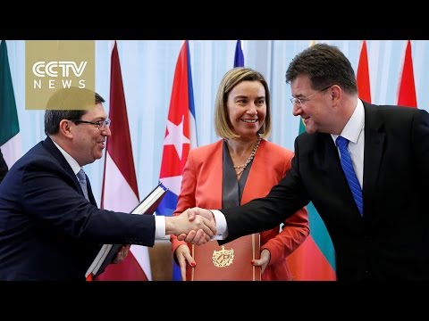 EU signs first cooperation agreement with Cuba