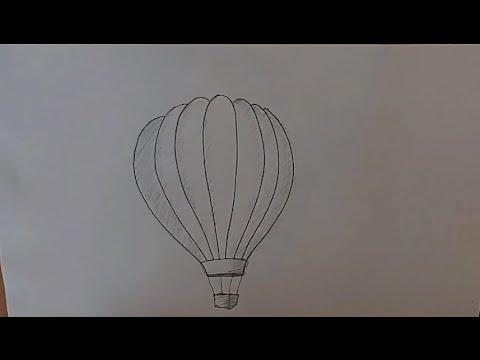 Учимся рисовать Воздушный шар