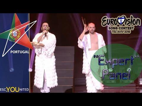 Eurovision 2019: Portugal REVIEW: Conan Osiris - Telemóveis | 'Expert' Jury