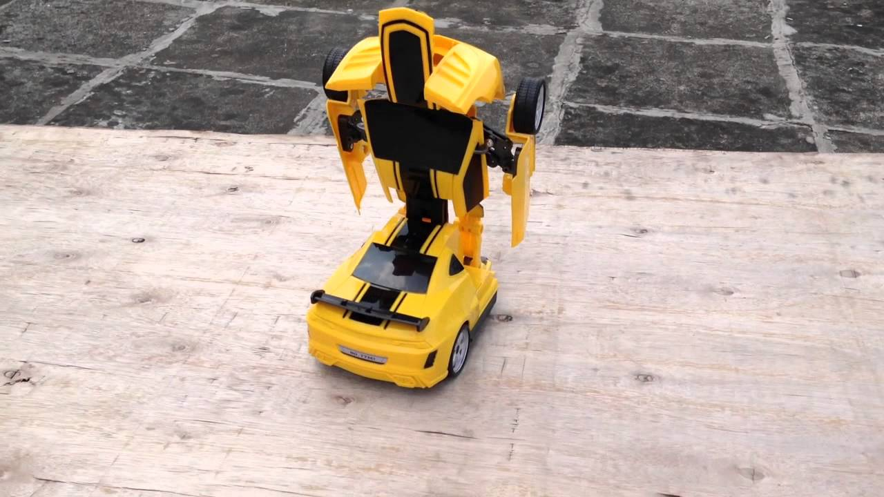 The Transformers Remote Control Car Bumblebee Youtube